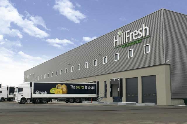 export gebouwen voor vrachtwagens