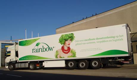 Nieuwe SVB-trailer ingezet voor transporten Rainbow Kleinpak Rainbow Kleinpak