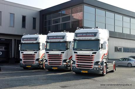 Eerste 3 Scania's Koos van Gaalen