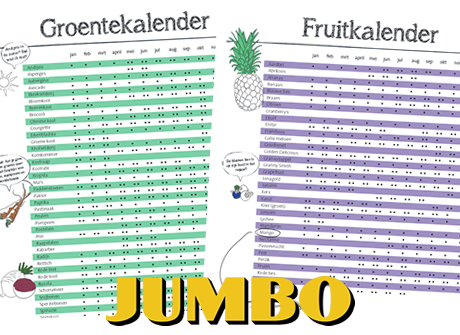 Jumbo Seizoenskalender toont seizoensgroenten aan consument: www.groentennieuws.nl/artikel/113020/Jumbo-Seizoenskalender-toont...