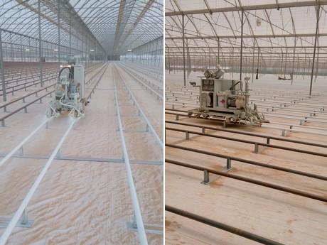 Spuiterij Geraerts aan de slag voor Agro Care in Tunesië.
