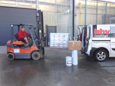 Hbv coatings levert verf nieuwe uitbreiding den berk bvba - Kwekerij verf ...