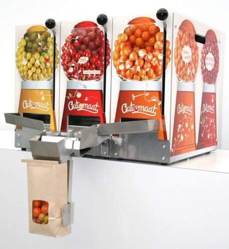 fruit- en snoepautomaat