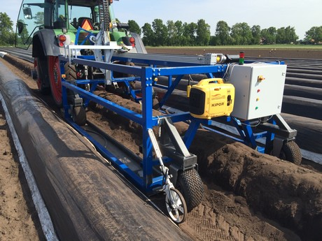 robot oogst asperges