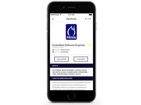sollicitatie app Startup lanceert sollicitatie app op GreenTech