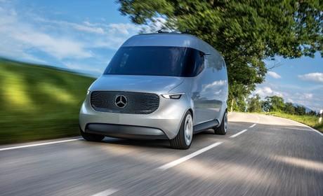 Mercedes Benz Ontwikkelt Bestelbus Van De Toekomst