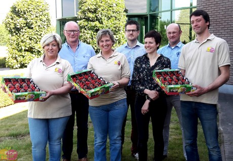 Fine Fleur Frambozen Voor Topchef Sergio Herman