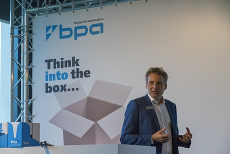 Blueprint automation launches rgp gravity case packer martin prakken ceo of bpa malvernweather Choice Image