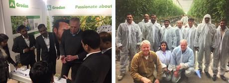 Indiase tuinbouwexperts doen kennis en ervaring op in Nederland