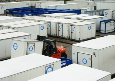Renting a temporary refrigeration system is the ideal solution for
