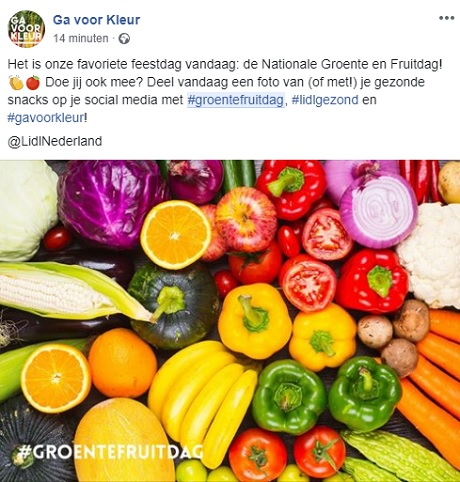 lidl start met nationale groenten- en fruitdag